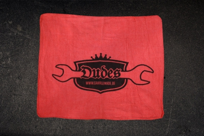 Dudes Towel red